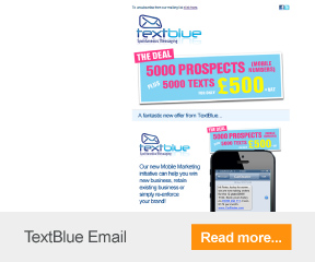 Find out more about TextBlue's email marketing